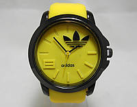 Мужские часы Adidas - желтые с черным