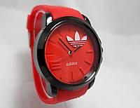 Мужские часы Adidas - красные с черным