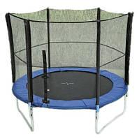 Спортивный батут MS 0496 с защитной сеткой, диаметр 244 см