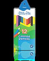"""Карандаши цветные """"MARCO"""" №1100-12CB Colorite NEW (12 цветов), фото 1"""