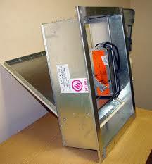 Клапан противопожарный дымовой КПД-4 200х200 дымоудаления