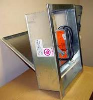 Клапан противопожарный дымовой КПД-4 200х200 дымоудаления, фото 1