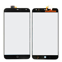 Тачскрин сенсорное стекло для Meizu MX4 black