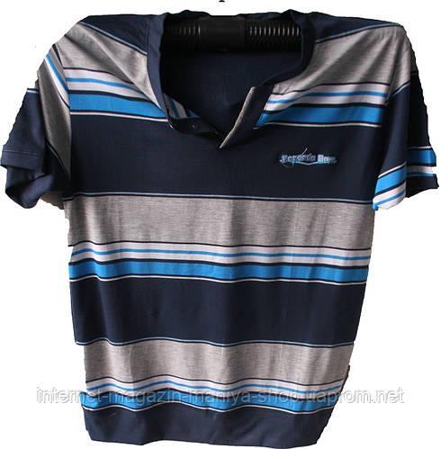 Мужская футболка полубатал