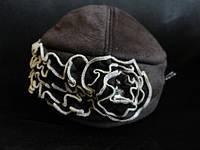 Недорогие женские замшевые шапки, фото 1