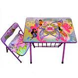 Детская парта DT 20-2 – столик со стульчиком Феи, фото 2