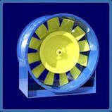 Вентилятор осьовий В-12-303-5, фото 2