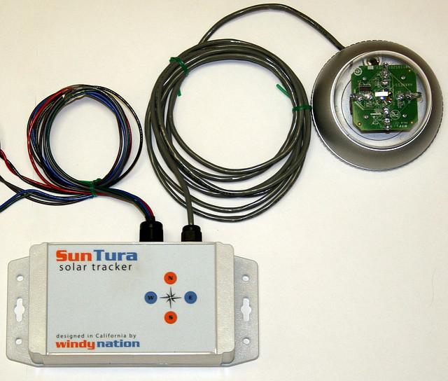 Автоматика для устройства слежения за солнцем двуосное Suntura