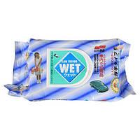 Влажные салфетки SOFT99 Car Tissue Wet, 80 шт.