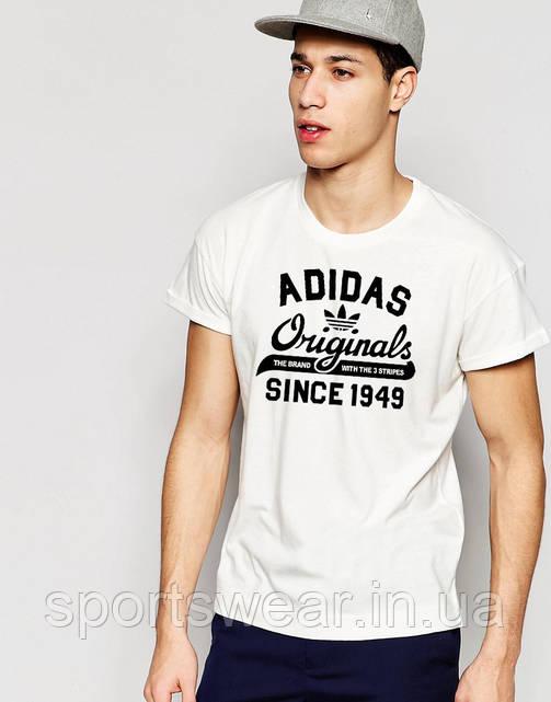 Футболка белая Adidas Original