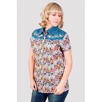 Стильная летняя женская блуза .