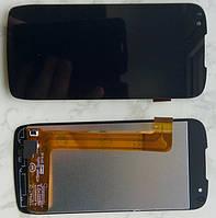Fly IQ4405 Evo Chic дисплей в зборі з тачскріном модуль чорний