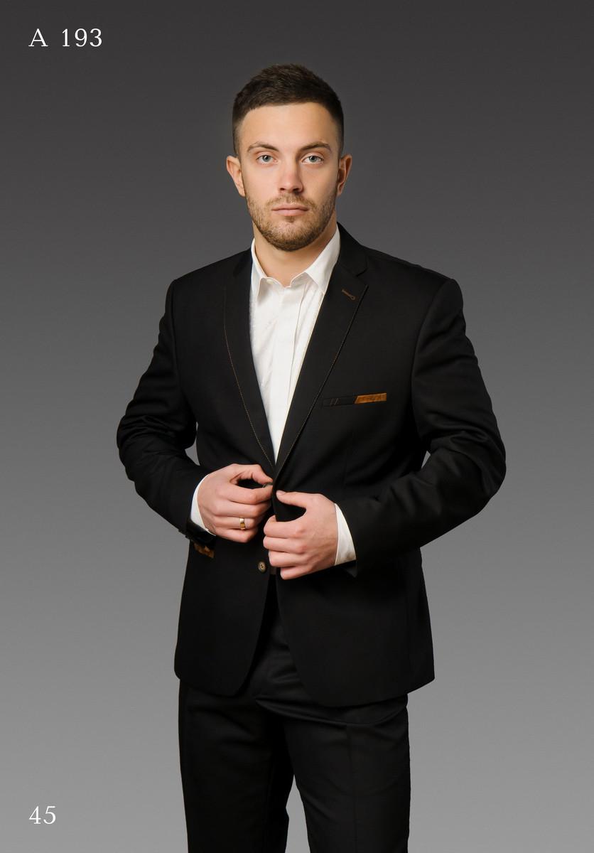 Мужской костюм West-Fashion модель А-193 черный