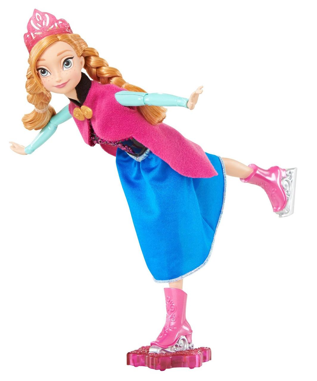 Disney Анна на коньках Frozen Skating Anna Doll