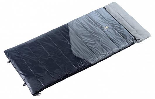 Спальный мешок Deuter Space II titan/black левый (37011 4100 1)