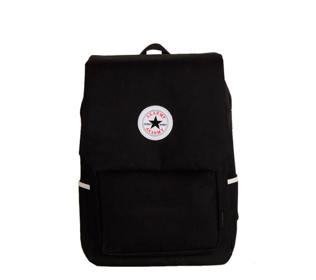Рюкзак Akarmy | черный вид спереди