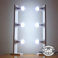 Мобильные стойки с подсветкой 70 см