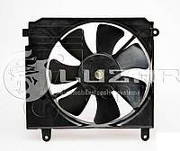 Электровентилятор охлаждения радиатора Daewoo Lanos  (производство LSA)
