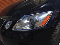 НАШИ РАБОТЫ: Реставрация головной оптики Lexus GS350