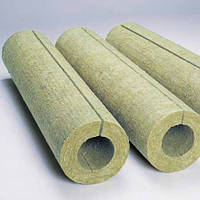 Базальтовая скорлупа - цилиндры для теплоизоляции труб