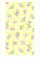 Полотенце кухонное Тюльпан желтый
