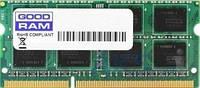 Оперативная память для ноутбука GooDRam SODIMM DDR3 4GB 1600  МГц (GR1600S364L11S/4G)