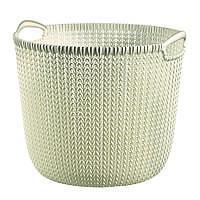 """Корзина для хранения Curver """"Knit"""" 03673 (30л)"""