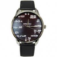 Часы наручные Математика