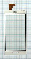 Тачскрин сенсорное стекло для LG P760/P765 Optimus L9 white