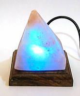 Соляная лампа USB Пирамида (10Х9Х9 см)