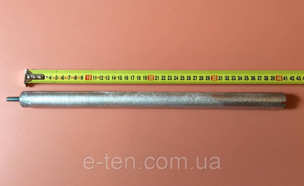 Анод магниевый Италия  Ø26мм / L=400мм / резьба M8*25мм   оригинал