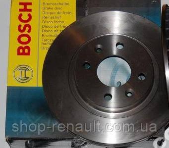 Диск тормозной вентилируемый 258,5 мм Bosch (0 986 478 124)