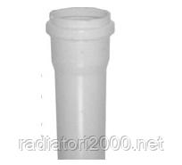 Труба ПВХ внутренней канализации Wavin 32х1,8х500; бел.