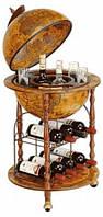 Глобус бар напольный коричневый Santeli