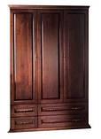 Шкаф трехдверный с ящиками, фото 2