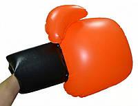 Перчатки Воздушный бой боксёрские надувные оранжевые
