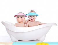 Шапочка для купания младенцев Розовая