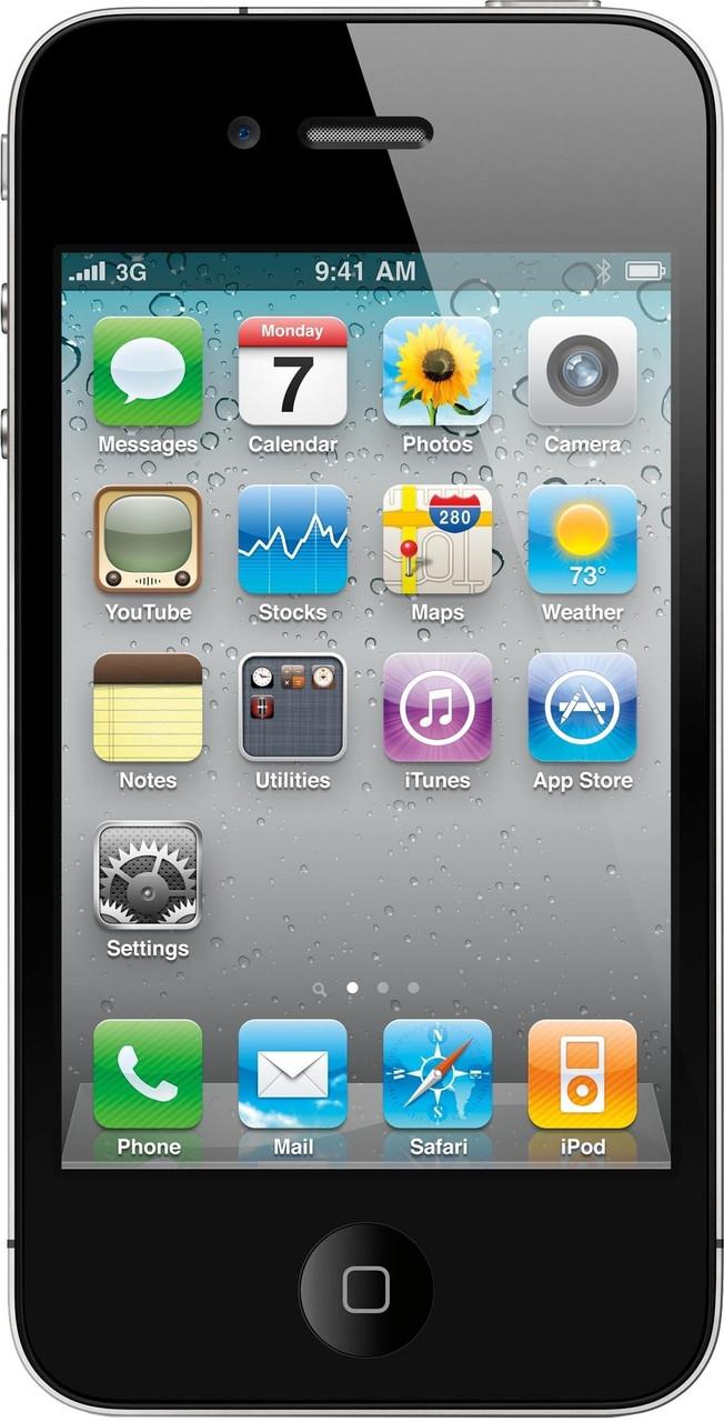 Apple iPhone 4S 32GB NeverLock (Black) Refurbished
