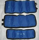 Утяжелители для рук и ног 1,5 кг (3 кг пара), фото 2