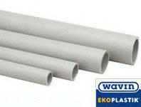 Труба для горячего водоснабжения ekoplastik wavin д 50 pn 20