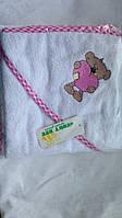 Детское махровое полотенце.