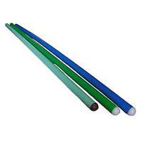 Палка гимнастическая пластиковая 110см