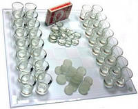 Алко-игра 3 в 1 (шахматы, шашки и колода карт)