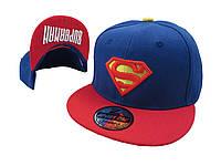 Синяя кепка  Superman
