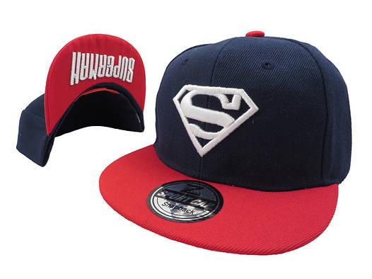 Темно-синяя кепка  Superman