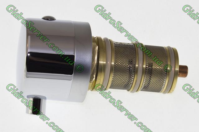 Картридж с термостатом TK - 031 для термостатического смесителя вид сбоку.
