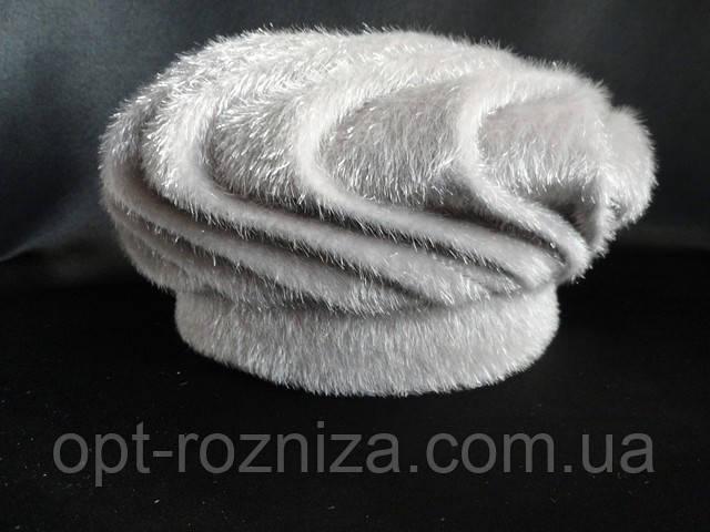 Женские шапки из нерпы. Купить оптом