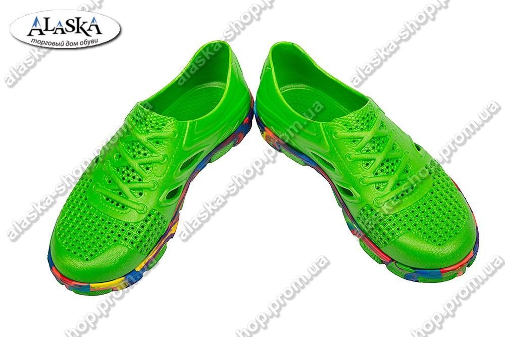 Подростковые кроссовки микс-салатовые (Код: Кросовки)