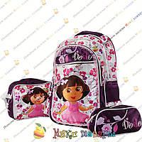 Детский рюкзак, сумка и пенал для девочек (yo09026)
