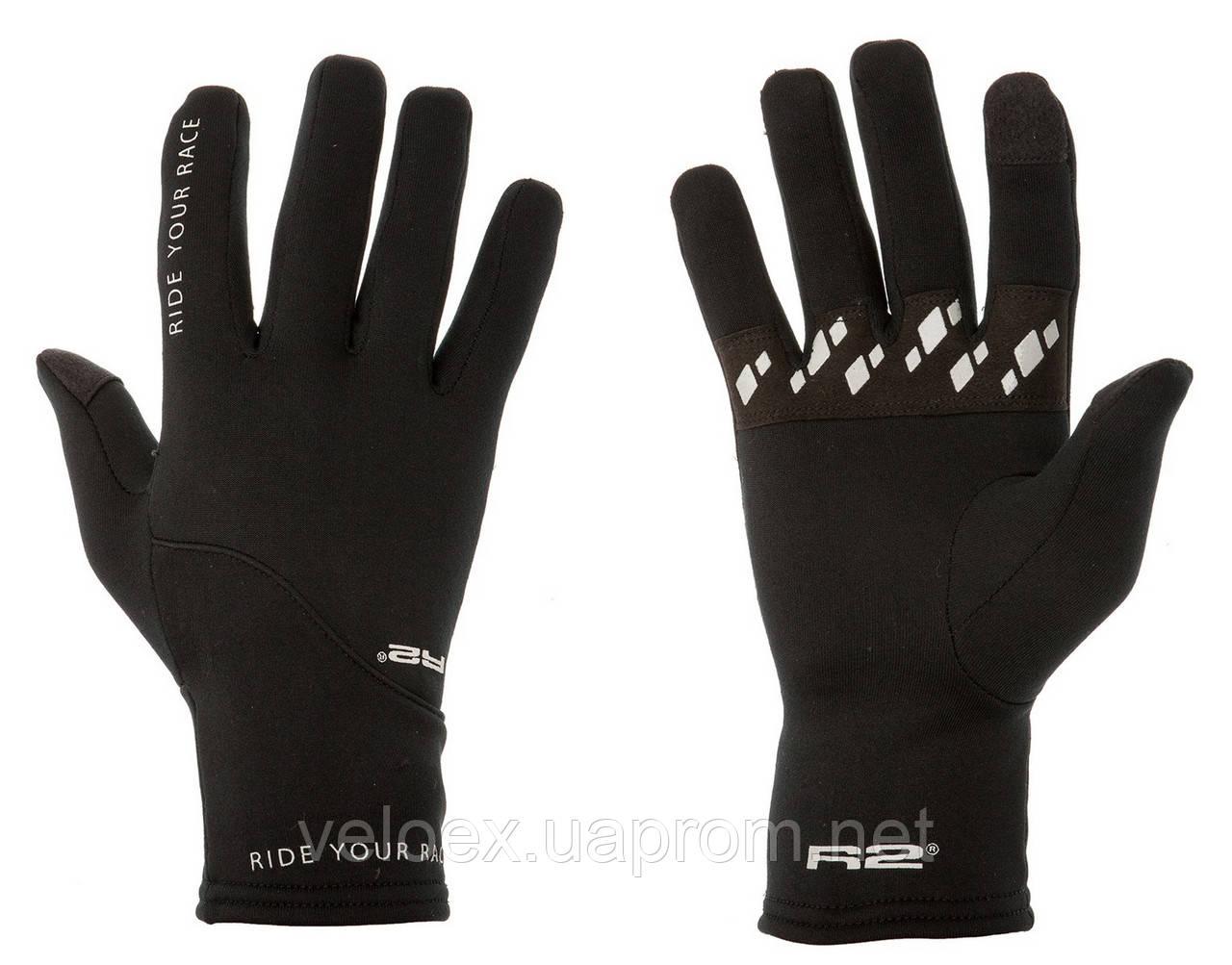 Перчатки R2 THERMAL черно-серые XXL